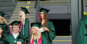 Whitney Barton, University of Oregon Graduation